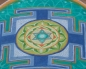 This is an image of a Yantra, there are many designs, but all them contains a deeply meaning