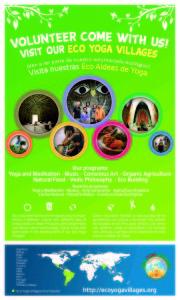 afiche eco yoga v